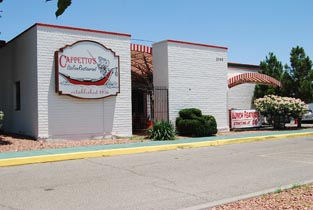 Capetto 39 s restaurant building space for lease in el paso for Italian el paso tx