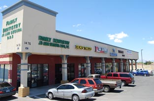 Available retail space in El Paso